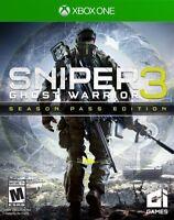 Sniper: Ghost Warrior 3  Season Pass Edition (Microsoft Xbox One, 2017)