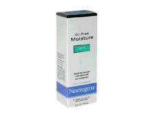 McK Neutrogena Oil-free SPF 15 Moisturizer Unscented Lotion Pump Bottle 4 oz