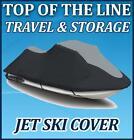 For Honda Jet Ski AquaTrax R-12 R12 2004-2006 JetSki PWC Mooring Cover Black/Gry