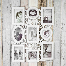 Gros 9 ouverture photo MULTI Cadre photo 4x6 4x4 Collage Vintage Shabby Chic