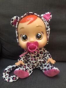 IMC cry doll baby Lea