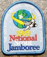 1989 National Scout Jamboree Pocket Patch - The Adventure Begins...  BSA