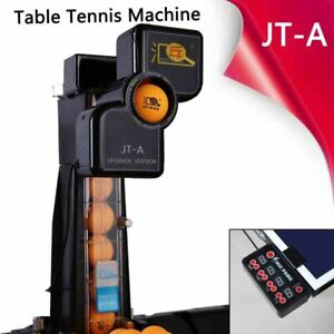 Electric JT-A Table Tennis Robot Automatic Ping Pong Ball Trainer w/ Recycle Net