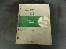 John Deere Gt262 Garden Tractor Technical Manual Tm1515 18Oct91