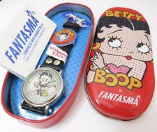 "BETTY BOOP, Fantasma, Blinking Eyes,""EZ Rider"" Super Rare, UNISEX WATCH R15-30"
