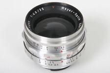 Meyer Optik Primagon 35mm f4.5 lens in Exacta Mount, Gorlitz