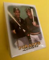 50) BARRY BONDS Pittsburgh Pirates 1988 Topps Baseball Card LOT w/ Bonilla