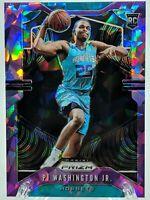 PJ Washington RC 2019-20 Prizm Purple Cracked Ice /149 Charlotte Hornets Rookie