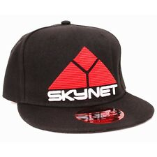 OFFICIAL TERMINATOR 2: JUDGMENT DAY SKYNET BLACK SNAPBACK CAP (BRAND NEW)