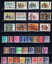 Great Britain - used lot mostly 1970's including Machins