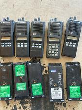 Lot Of Five Motorola Mts2000 800mhz Handhelds
