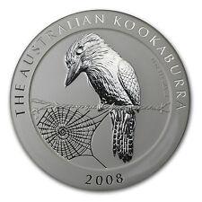 2008 Australia 10 oz Silver Kookaburra BU - SKU #28845