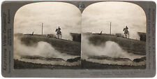 Keystone Stereoview Devil's Ink Pot,Yellowstone National Park from Education Set
