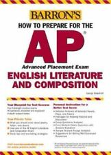 How to Prepare for the AP English Literature and Composition by George Ehrenhaft