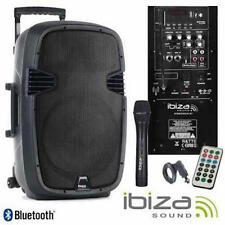 "Ibiza Hybrid 10"" Portable Battery 400W PA System + Wireless Handheld Mic/Remote"