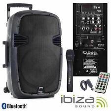 "Ibiza híbrido 10"" Batería portátil 400W Sistema PA + control remoto inalámbrico portátil Mic/"