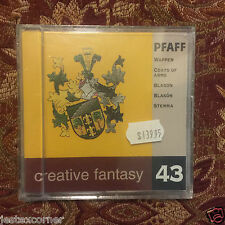 Pfaff Coat of Arms Embroidery Designs Card #43 for 7570 2140 2160 2170