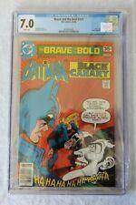 Brave And The Bold #141 141 DC Comics 1978 CGC 7.0 Batman Black Canary Joker