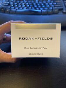 NEW IN THE BOX RODAN + FIELDS MICRO-DERMABRASION PASTE 4.2 FL OZ/125 ML
