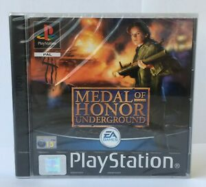 Medal of Honor Underground (Playstation One) PS1 Factory Sealed  NEW Rare PAL