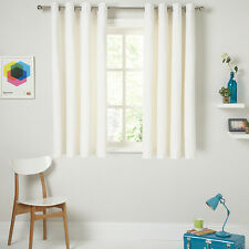 Pair of John Lewis Embossed Wave Beige Ready Made Lined Curtains 228 W x 137cm D
