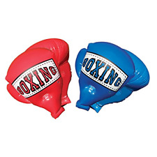 Inflatable Boxing Gloves Kids Outdoor Play Fight Mega Blue Red 1 pair painless