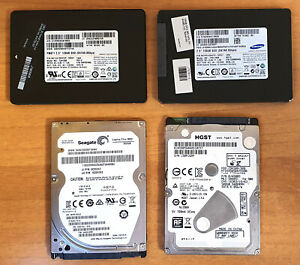 N.4 SSD + HDD 128GB 500GB HGST SEAGATE PM871 SAMSUNG SATA III 6GB THIN LOTTO AST
