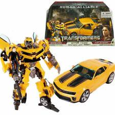 TRANSFORMERS ROTF BUMBLEBEE HUMAN ALLIANCE SAM WITWICKY ROBOT CAR FIGURE KID TOY