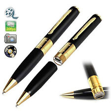 Recorder Black Pocket Camcorder Camera Mini Spy Hidden Pen DV TF SD Card #