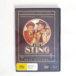 The Sting DVD Movie Region 4 Free Post - Drama Heist