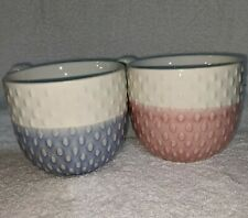 The Old Pottery Company, set of 2 mugs, great for a gender reveal