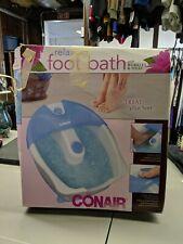 Foot Spa Massager Bubbles Bath Water Vibration Conair