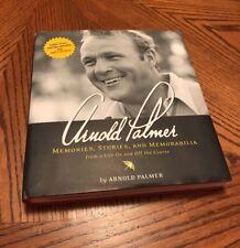 Arnold Palmer Memories, Stories and Memorabilia (2004) HC.DJ.1st. Hand Signed BP