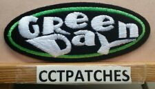 GREEN DAY ROCK BAND (WHITE LETTERS) PATCH