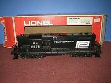 Lionel MPC: Penn Central GP7 Diesel. (#8576) Runs, in box, (1975 era) C-7/ob sc