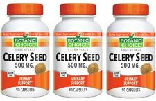 CELERY SEED 500MG SUPPORT URINARY HEALTH BLADDER DIETARY SUPPLEMENT 270 CAPSULES