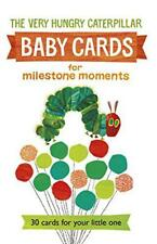 Very Hungry Caterpillar Baby Cards for Milestone Moments by Carle, Eric | Hardco