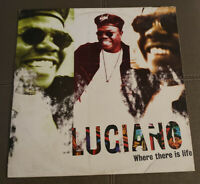 Luciano - Where There Is Life (Reggae Vinyl LP VG+) Free Shipping