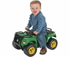 NEW JOHN DEERE SIT & SCOOT BUCK ATV WITH LIGHTS & SOUNDS 12M+ RIDE ON CHILDREN
