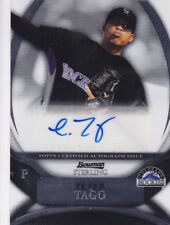 2010 Bowman Sterling Peter Tago Colorado Rockies Autograph Auto Card