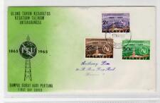 MALAYSIA: 1965 ITU First Day Cover (C32246)
