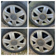 AUDI 80 90 B3 B4 COUPE CONVERTIBLE ALLOY WHEELS R15 4x108 SET