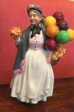 "Vintage Royal Doulton Biddy Pennyfarthing Hn1843 Figurine Balloon Lady 9"""