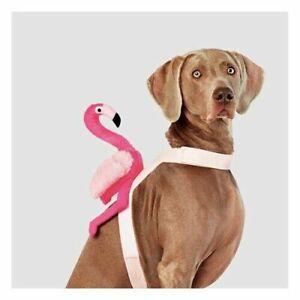 Hyde & EEK! Boutique Pink Flamingo Rider Halloween Dog Pet Costume XL