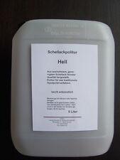 Politur-Schellackpolitur-Ballenmattierung super blond 8941  hell - in 5 Liter