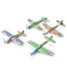 12X/Set Foam Glider Prop Flying Gliders Plane Aeroplane Children DIY Toys