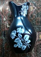 1950s Black Sylvac Vase