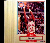 1990-91 Fleer  ISIAH THOMAS ~ 20 CARD LOT  ~ PISTONS HOF HALL OF FAME INDUCTEE