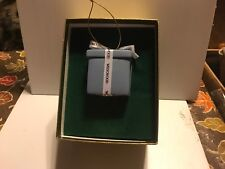 Wedgewood blue Ornament, 2� Box Unused, Vintage circa 80's, Origional box