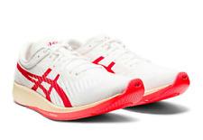 ASICS Running Shoes METARACER WHITE with SUNRISE RED New for Mens